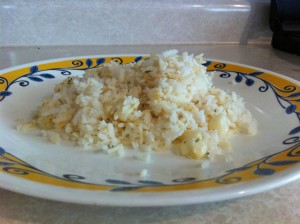 arroz listo