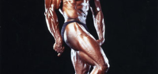 Jim Morris en la competencia Olympia Masters en 1996 Foto: www.gymmorris.com