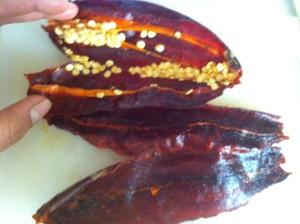 chiles guajillos