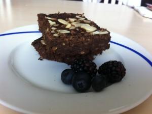 Brownies sin grasa 5