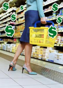 gasto en supermercado