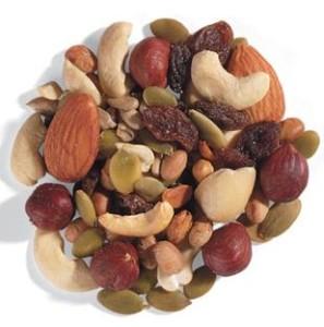 botana de nueces y frutos secos