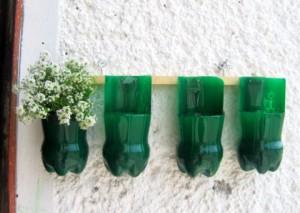reutilizar botellas de plastico